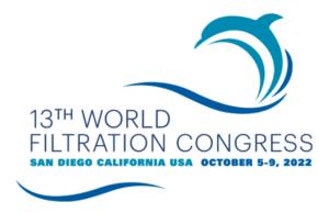 13th World Filtration Congress Logo